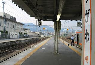 Photo: 中津川駅 1700発の松本行き1837Mを待つ為、約2時間待ち。