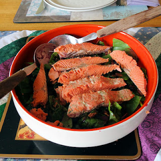 Seafood Salad With Blueberry Vinaigrette