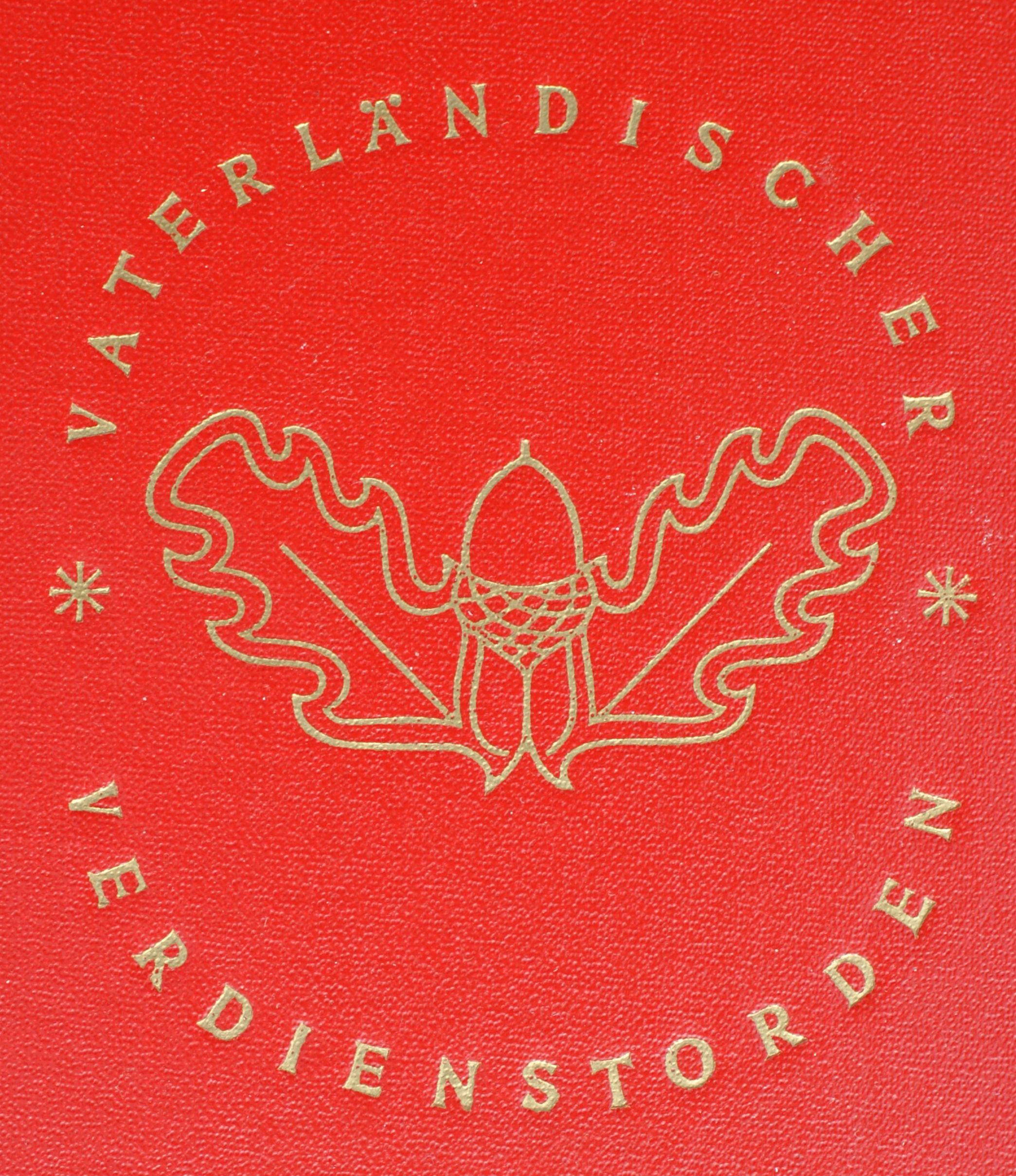 Photo: 005d Vaterländischer Verdienstorden in Bronze www.ddrmedailles.nl