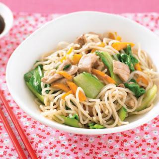 Teriyaki Chicken Noodle Stir-Fry.