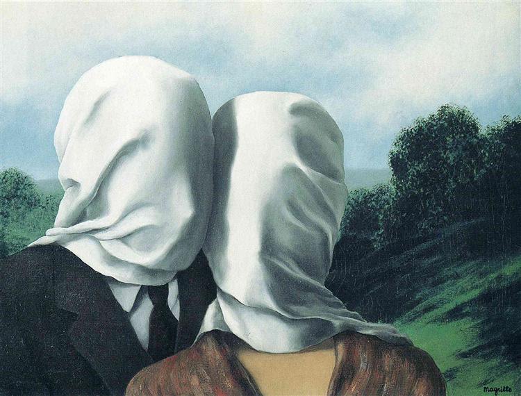 Die Liebenden Magritte