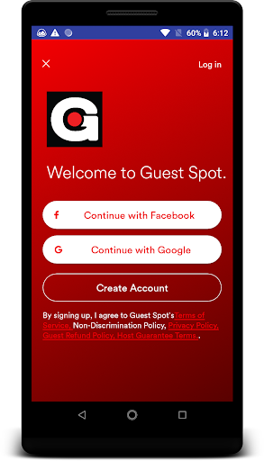 Screenshot for Guest spot in United States Play Store