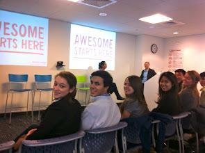 Photo: Google Cambridge (Awesome Starts Here) w/former student Josh Berk