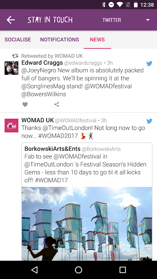 WOMAD UK 2017- screenshot