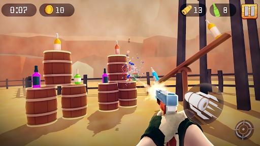 Bottle Shooting Game fond d'écran 1