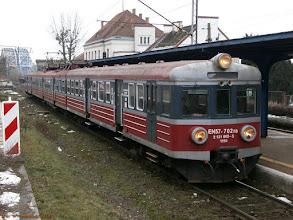 Photo: EN57-702, Toruń Główny - Toruń Wschodni {Toruń Miasto; 2013-02-22}