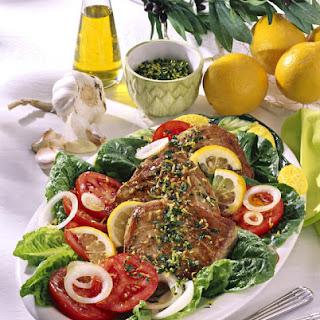 Lemon and Herb Crusted Tuna