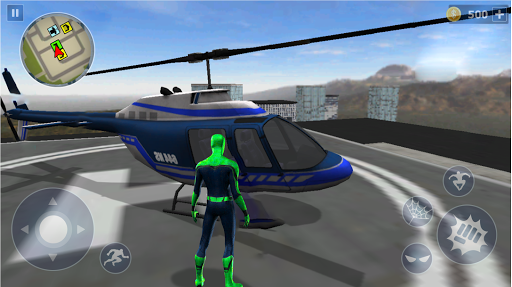 Spider Rope Hero: Ninja Gangster Crime Vegas City  screenshots 3