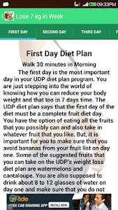 Diet Plan Weight Loss screenshot 1
