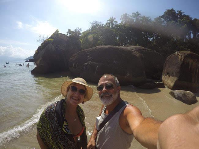 Canto direto da Praia do Félix em Ubatuba