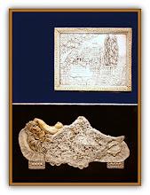 Photo: Antonio Berni La noche 1972. Xilo-collage-relieve. Matriz xilográfica: 63,5 x 47,5 cm. Estampa: 75 x 58,5 cm. Colección particular, Buenos Aires. Expo: Antonio Berni. Juanito y Ramona (MALBA 2014-2015)