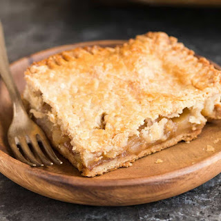 Apple Slab Pie with Brown Butter Crust Recipe