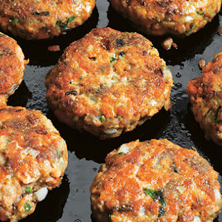 Dukka- Spiced Salmon Patties