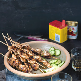 Maple Lime Chicken Skewers..