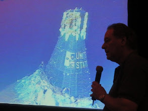 Photo: Professional Diver & Salvage guru Curt Newport tells us about his 14-year search for Gus Grissom's Liberty Bell capsule... finally found near Cape Canaveral, nearly 3 miles down!