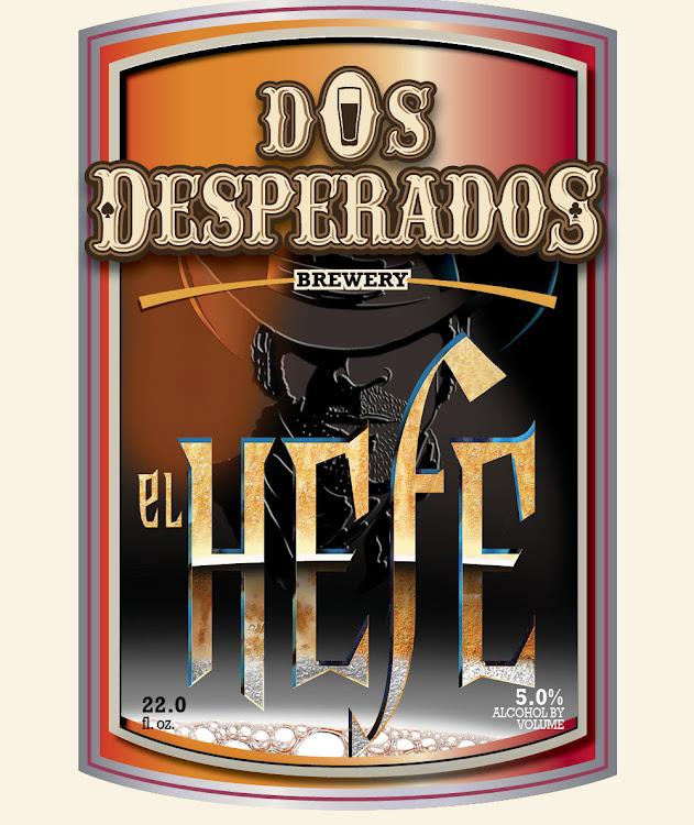 Logo of Dos Desperados El Hefe Hefeweizen
