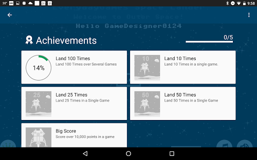 Space Lander  screenshots 13