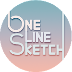 One Line Sketch Icon