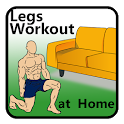 30 days legs workout challenge at home icon