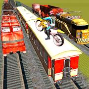Subway Train Stunts : Bike Trails Race 2018