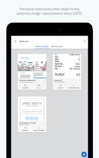 Adobe Scan: Skaner PDF, OCR Screenshot