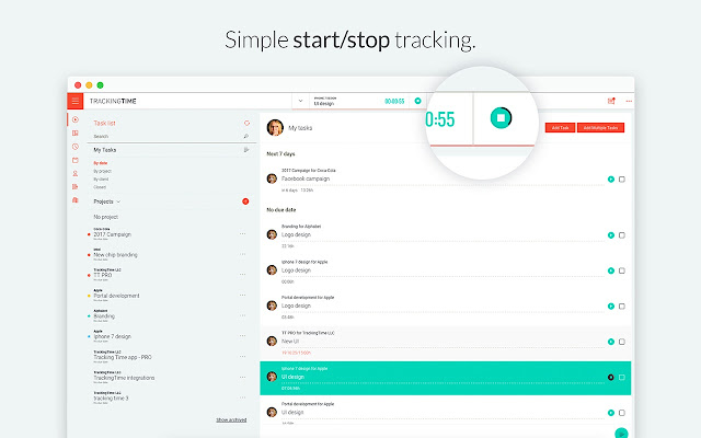 TrackingTime | Time Tracker - Chrome Web Store