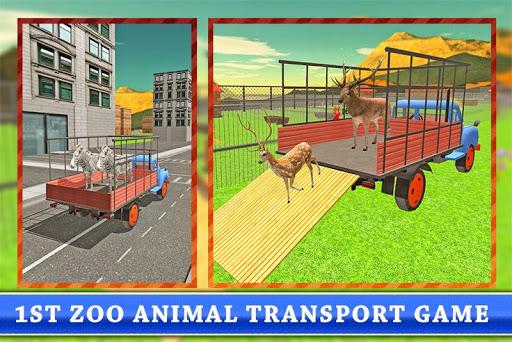运输卡车:动物园里的动物