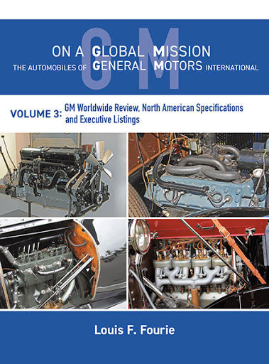 On a Global Mission: The Automobiles of General Motors International Volume 3 cover