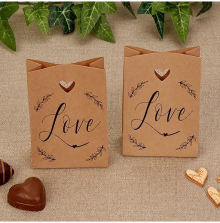 Minipåsar Love - Hearts & Krafts