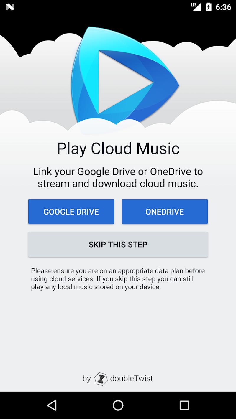 CloudPlayer™ by doubleTwist cloud & offline player Screenshot