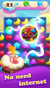 Crazy Candy Bomb – Sweet match 3 game 3