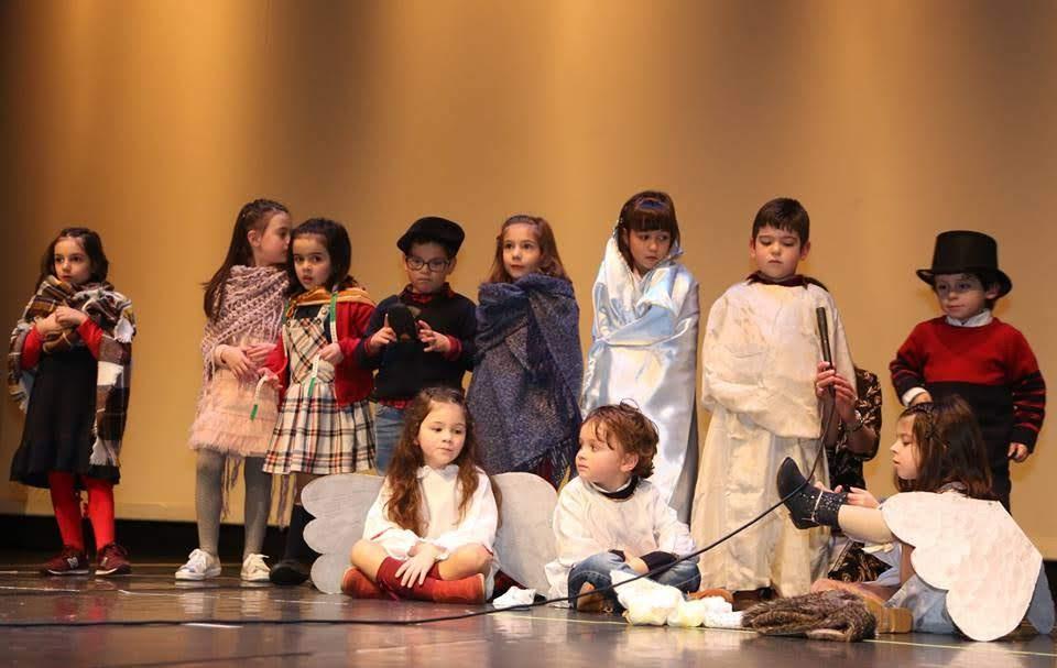 Crianças festejam em palco Natal da Misericórdia de Lamego