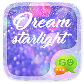 (FREE) GO SMS DREAM STARLIGHT THEME