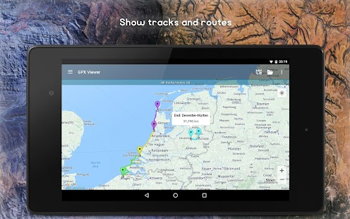 GPX Viewer - Tracks, Routes & Waypoints- screenshot thumbnail