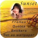 Sunset Photo Frames