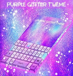 Purple Glitter Theme - náhled
