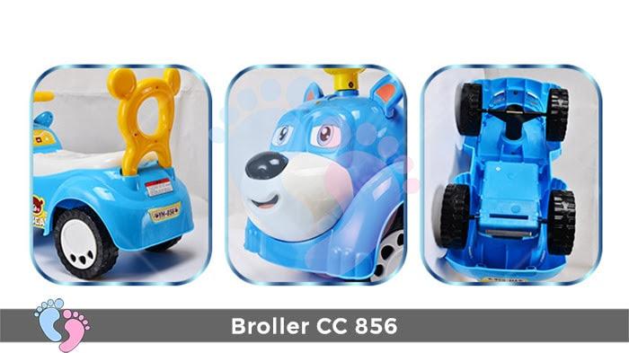 Xe chòi chân cho bé Broller CC-856 10