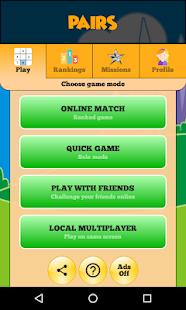 Pairs Online - Duel friends online!