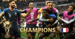 【高盧雄雞鳴凱歌】法國 4:2 擊敗克羅地亞 相隔廿載再奪世界盃