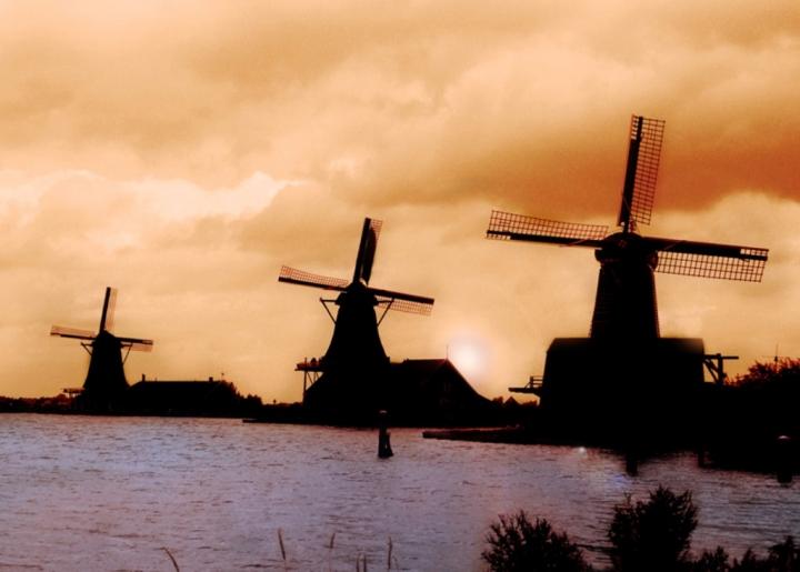 Silhouette dall'Olanda di alessandroaccossato