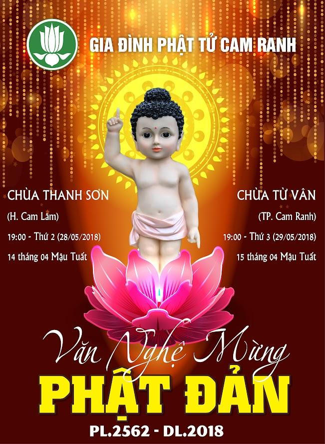 Hình ảnh – Văn nghệ mừng Đại lễ Phật Đản PL.2562 (2018)