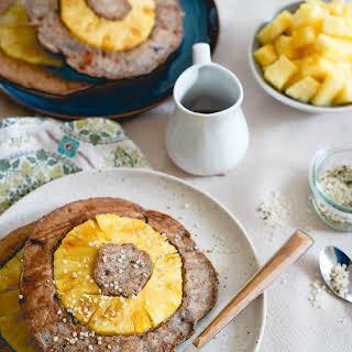 Pineapple Buckwheat Pancakes.