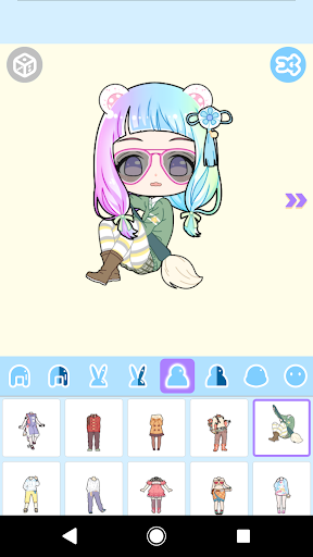 Cute Avatar Maker: Make Your Own Cute Avatar 2.0.2 Screenshots 10