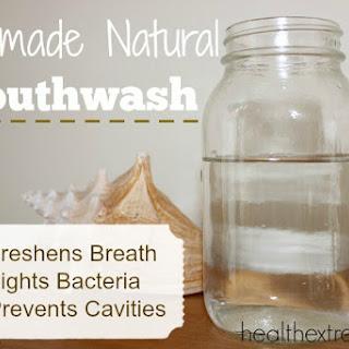 Homemade Natural Mouthwash.