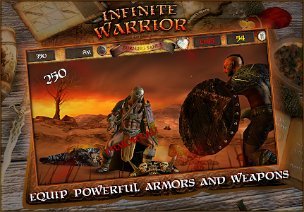Infinite Warrior Remastered v1.0 (Mod Money/Unlocked)