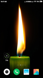Candle Light  Wallpaper HD APK screenshot thumbnail 1