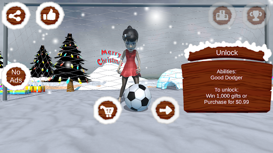 Santa Goalkeeper- screenshot thumbnail