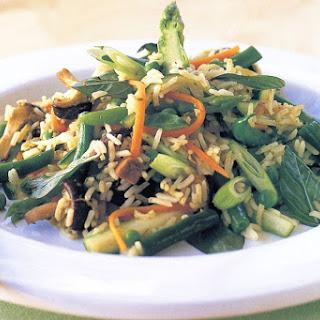 Stir-fried Vegetable Rice.