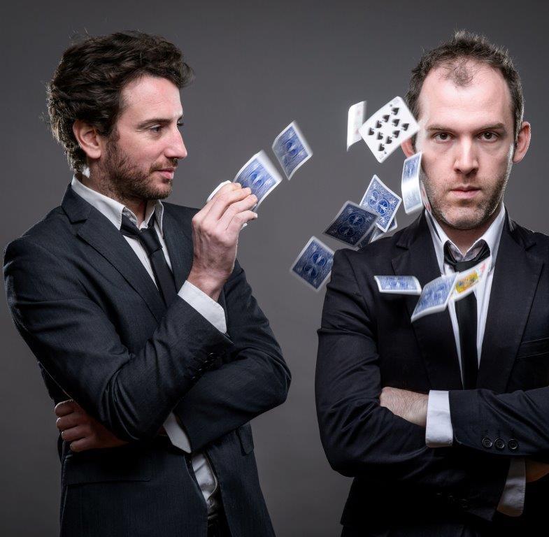 Matthieu Villatelle et Rémy Berthier