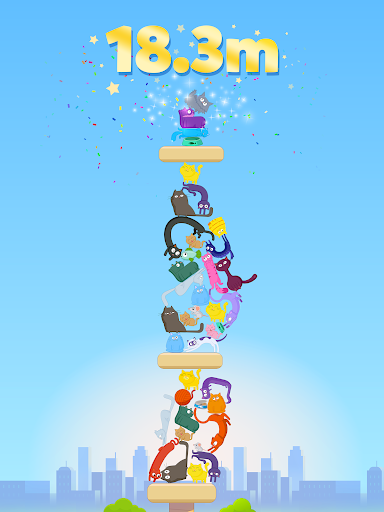 Cat Stack - Cute and Perfect Tower Builder Game!  screenshots 9